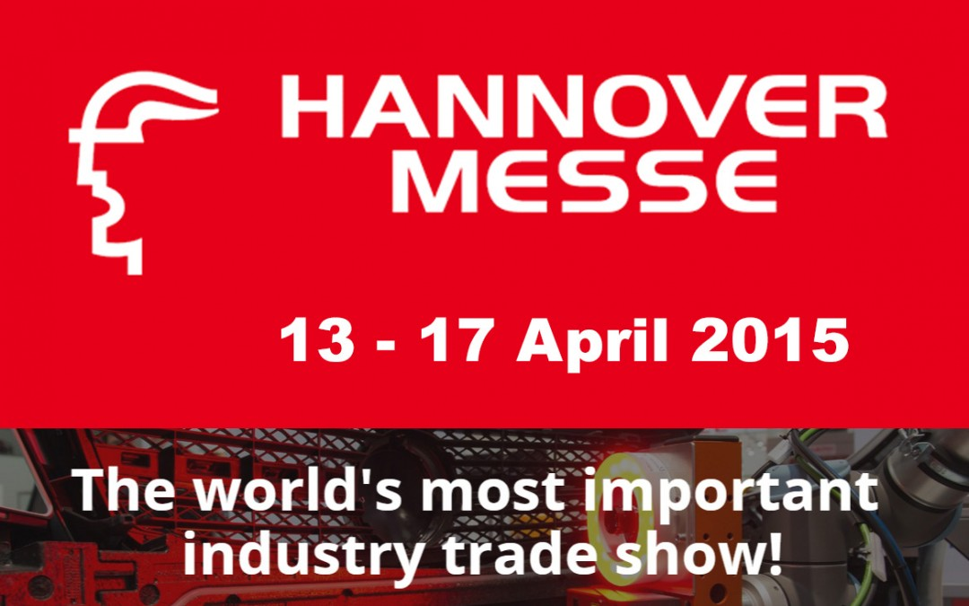 Abbiamo il piacere di informarvi che saremo presenti all'Hannover Messe pressp hall 004 STAND C54.